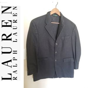 🍁Ralph Lauren Black Men's Blazer